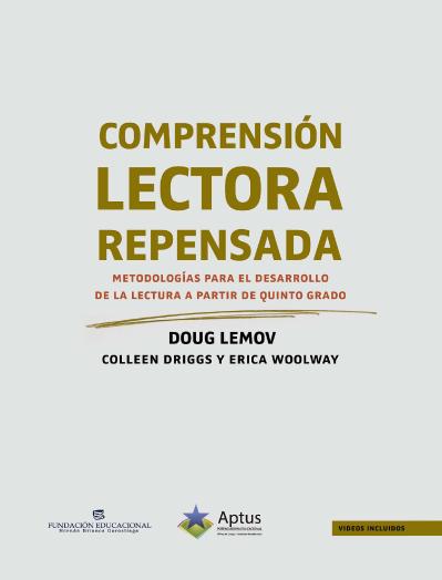Comprensión lectora repensada Doug Lemov