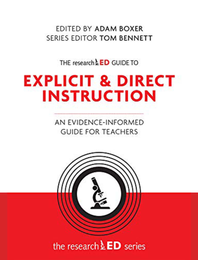 Explicit and direct instruction researchED