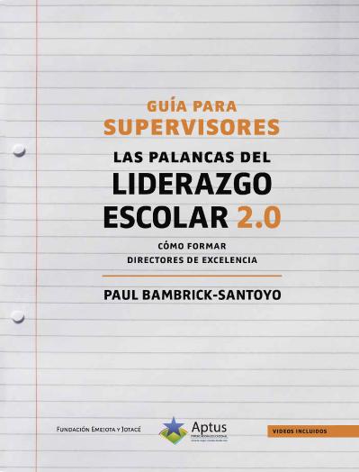 Guía para supervisores Paul Bambrick