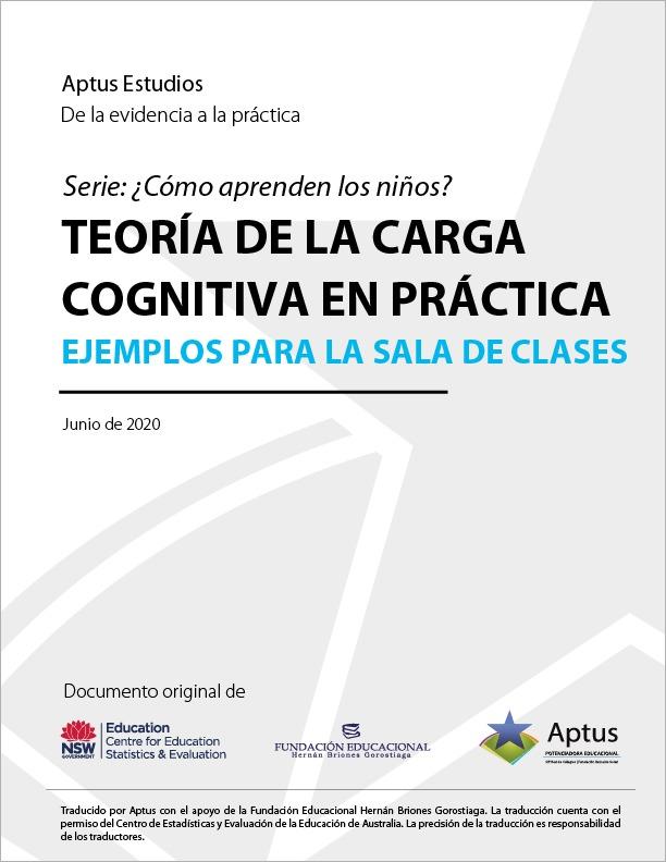 Teoría Carga Cognitiva Aptus